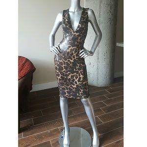 Leo Vegan Leather Dress